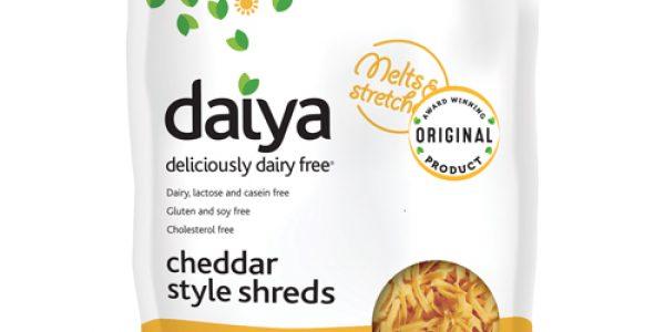 Dairy-free Cheese (Daiya Cheddar Style Shreds)