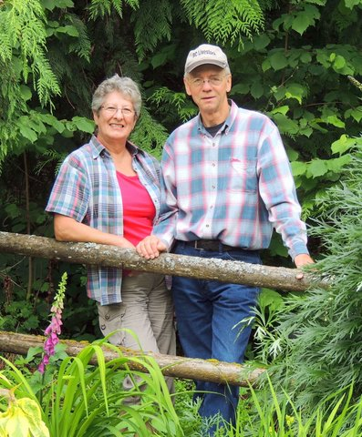 Fred & Maureen Ziemer, owners of Echo Valley Farm